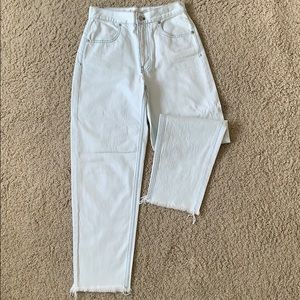 Madewell Never Worn Tapered Wide Leg Jeans